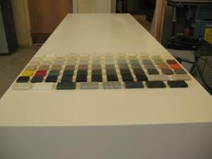 7. Solid Surface Material - LG Hi-Macs